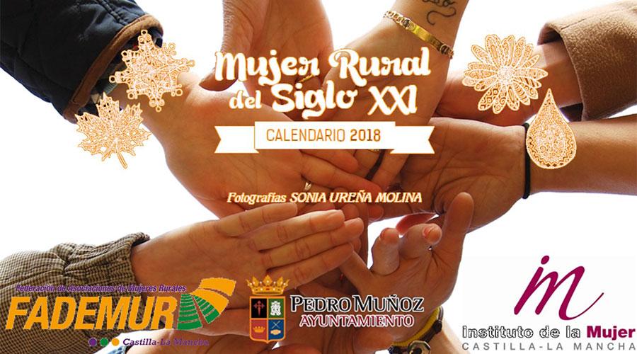Calendario solidario de FADEMUR sobre la mujer rural del siglo XXI