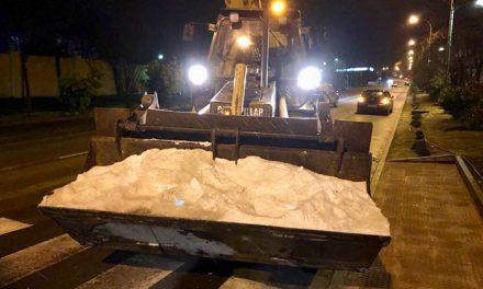 Activado el dispositivo especial de seguridad y limpieza para hacer frente al temporal de nieve en Campo de Criptana
