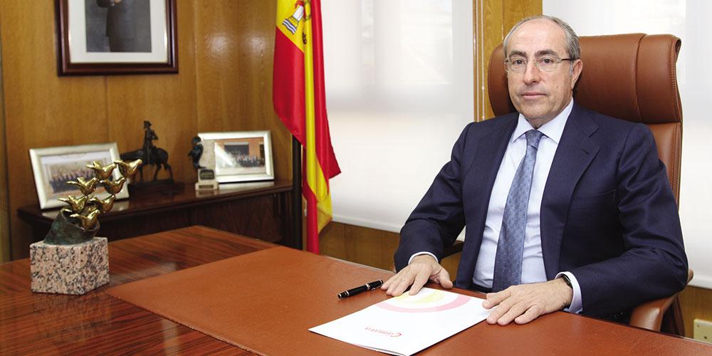 Mariano León Egido, Presidente de la Cámara de Comercio de Ciudad Real