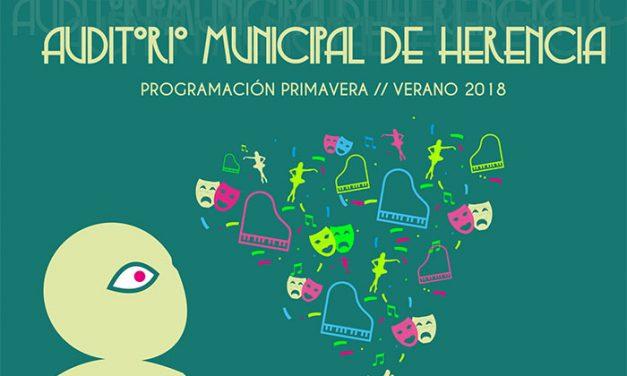 Presentada la programación cultural primavera-verano del Auditorio Municipal