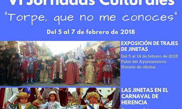 VI Jornadas Culturales: Pasado, presente y futuro del Carnaval de Herencia