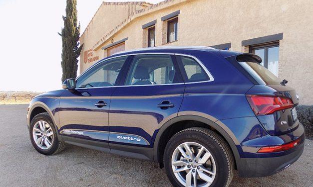 Prueba dinámica del Audi Q5 en Talleres Manchegos