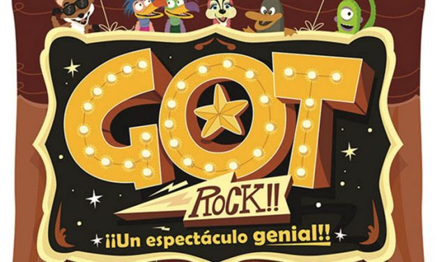 Got Rock!! Nuevo teatro familiar en el Auditorio Municipal de Herencia