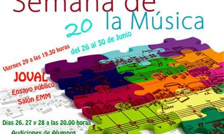XX Semana de la Música de Argamasilla de Alba