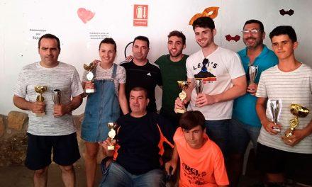 Jesús Hilario gana la liga de tenis 2017/18 de Argamasilla de Alba
