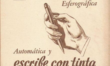 Pequeña historia del bolígrafo