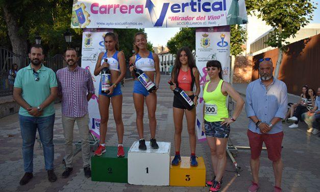 La socuellamina Jennifer Felguera vence en la Carrera Vertical que organiza la Concejalía de Deportes con la ayuda de los clubs de atletismo de Socuéllamos