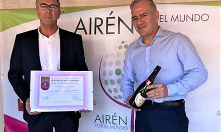 Medalla de oro para Vega Lucía espumoso airén extra seco en la VI edición del concurso Airén por el Mundo
