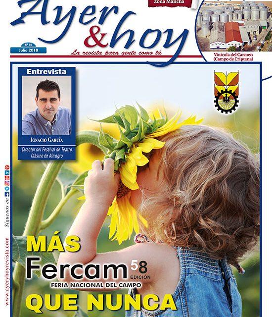 Ayer & hoy – Zona Mancha – Revista Julio 2018
