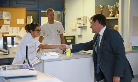 García-Page confirma que en dos semanas estarán finalizadas las obras de rehabilitación del Centro de Salud I de Tomelloso