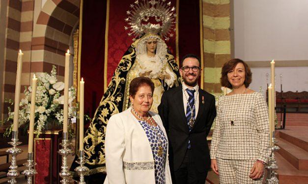 El conocido pregonero Francisco Javier Segura exaltó a la virgen de la Soledad por su 75 Aniversario