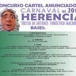Abierto el plazo de presentación de candidaturas para el Cartel de Carnaval 2019