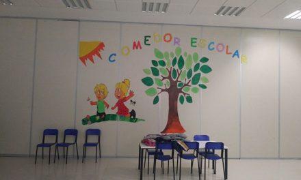 El comedor escolar permanecerá abierto durante la Navidad para cubrir las necesidades de 37 familias