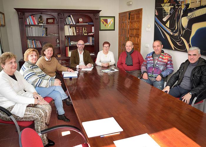 Jiménez y Serrano se reúnen con el recién elegido Consejo de Mayores