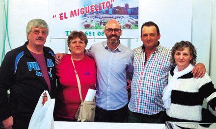 """Quesería Artesanal El Miguelito estuvo presente en el evento """"Sabores del Quijote"""""""