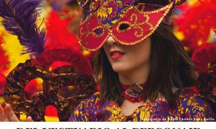 """""""Del vestuario al personaje"""" en las Jornadas Culturales del Carnaval de Herencia"""