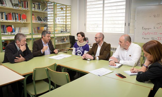 La JCCM destinará 450.000 euros en la construcción de un nuevo gimnasio-pabellón en el IES Vicente Cano
