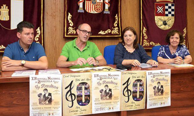 """El Festival Nacional de Zarzuela """"Villa del Alba"""" alcanza su décima edición con la puesta en escena de 'La Revoltosa'"""