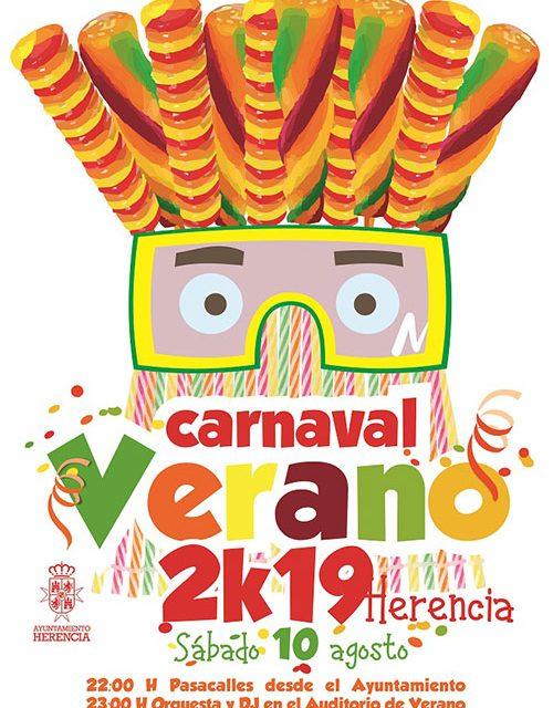 El auténtico Carnaval de Verano ultima sus preparativos en Herencia