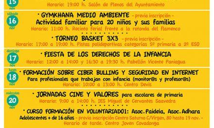 Presentada la XIV Semana de los Derechos de la Infancia y Adolescencia de Alcázar