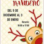 Mercadillo navideño en el Frida Kalho de Alcázar