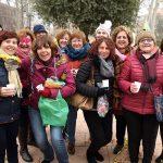 Argamasilla de Alba despide el año comiendo churros con chocolate y esponjas de gominola a favor de Paideia