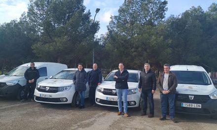 El Ayuntamiento de Herencia adquiere cuatro nuevos vehículos para diferentes departamentos