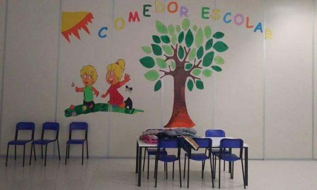 El Ayuntamiento colabora con la Consejería de Educación para prestar el servicio de comedor escolar durante el estado de alarma