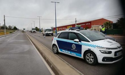 La Policía Local de Alcázar está realizando controles de movilidad en la ciudad y en las entradas por carretera