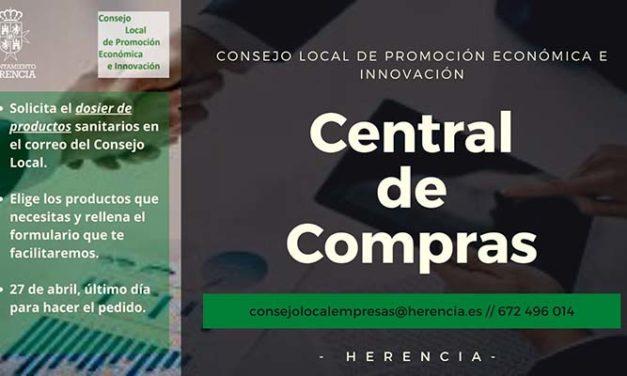 """El Consejo Local de Promoción Económica e Innovación de Herencia pone en marcha una """"central de compras"""" de material sanitario para empresas y autónomos"""