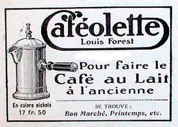 Dónde y cómo nació la cafetera
