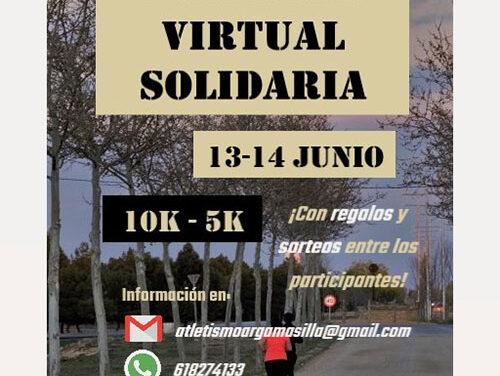 I Carrera Virtual Solidaria 10k y 5K de Argamasilla de Alba a beneficio de la asociación Brazos Abiertos