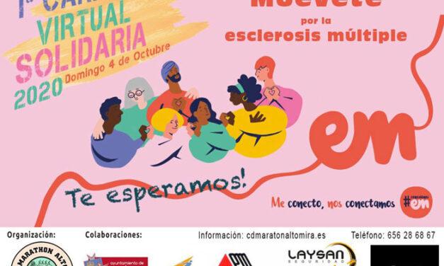 El CD Altomira organiza la Carrera Solidaria Virtual a favor de la Esclerosis Múltiple
