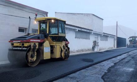 Pedro Muñoz continúa con la mejora y mantenimiento sus calles