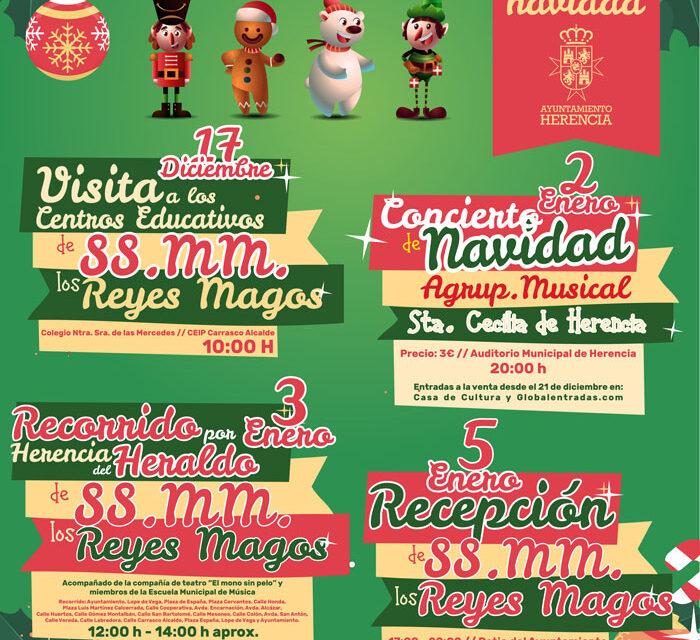 El Ayuntamiento apela por la creatividad para hacer llegar la fantasía de la Navidad a todos los rincones de Herencia