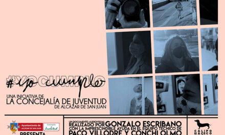 El ayuntamiento de Alcázar retoma la campaña #YoCumplo con una visión positiva de la juventud frente a la COVID-19