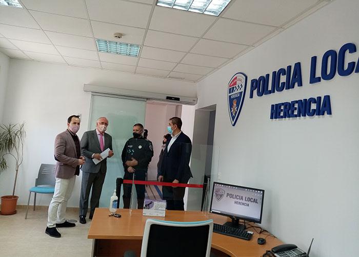 Inauguradas las nuevas dependencias de la Policía Local de Herencia