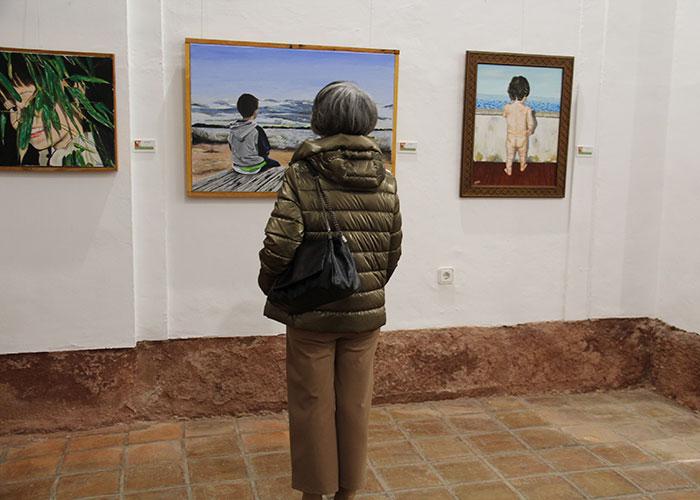 La Capilla del Museo Municipal acoge la primera exposición de Antonio Sánchez-Mateos