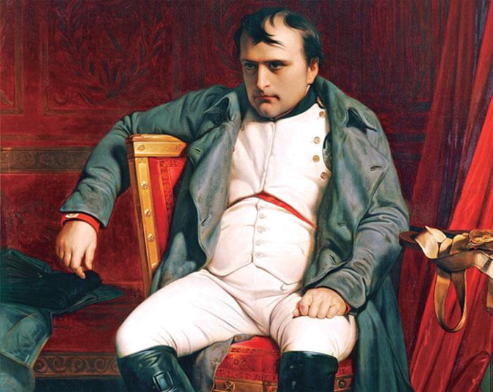Napoleón hablaba mal el francés