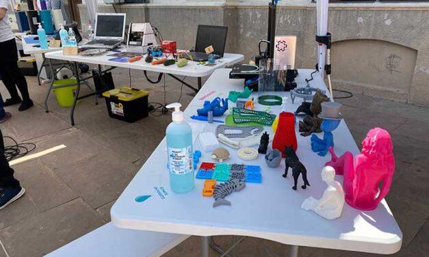 """""""FabLab Itinerante"""" llegó a Alcázar cargado de equipamiento tecnológico para el desarrollo digital"""