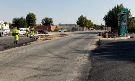 La Ronda de Mirasierra alcanza su útima fase con la pavimentación, acabados y senalización horizontal y vertical