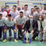 Manzanares Fútbol Sala (Quesos El Hidalgo). Su ascenso a 1ª División es el mejor regalo para celebrar su XX Aniversario