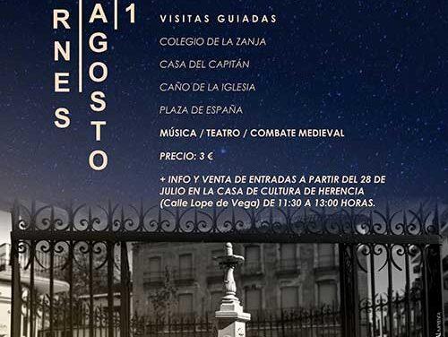 El Ayuntamiento de Herencia retoma este 2021 la Noche del Patrimonio para dar a conocer los recursos patrimoniales de la localidad